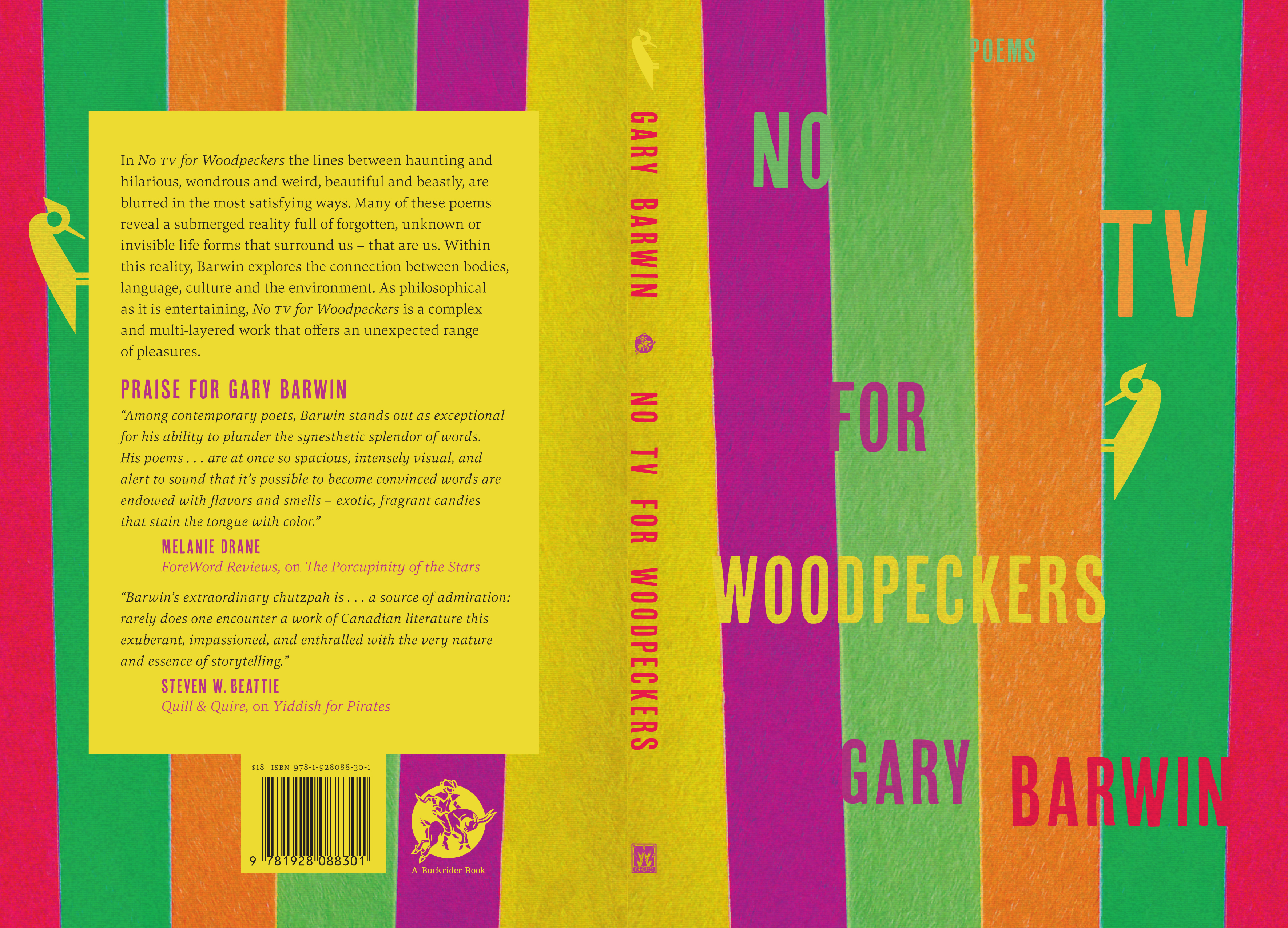 No TV for Woodpeckers Jacket 2