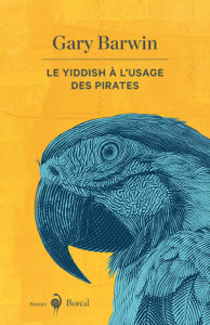 "The French cover of Yiddish for Pirates"" Le Yiddish à l'usage des pirates."""